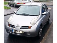 Nissan Micra 1.2 Sport 2005 Silver, Good Condition, Clean Inside & Outside, Drive Superb