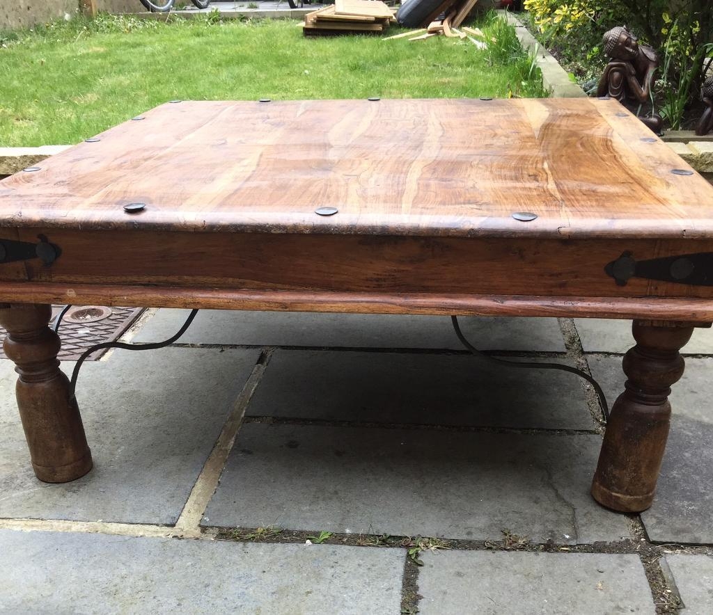 Indian Coffee Table Large Solid Indian Jali Shaseem Coffee Table In Eastbourne East