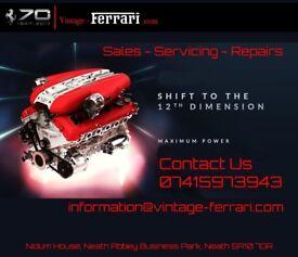 Vintage-Ferrari Classic & Competition Car mechanic & servicing