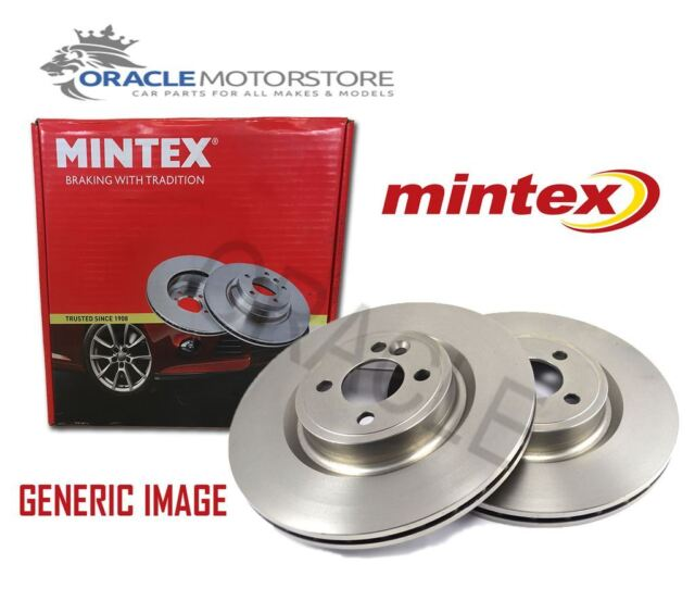 NEW MINTEX FRONT BRAKE DISCS SET BRAKING DISCS PAIR GENUINE OE QUALITY MDC765