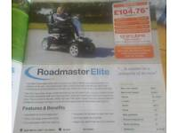 Roadmaster elite electric mobility scooter