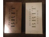 Burberry Brit Rhythm Floral EDT for Her 90ml RRP £72 new & boxed - genuine!