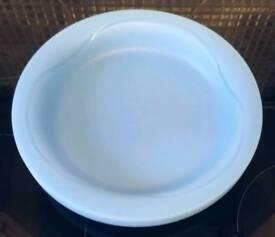 6 x Plastic Dinner Plates (Kids/Garden/Picnic)