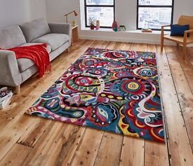 Funky Rug for Sale !! Fab style and colours