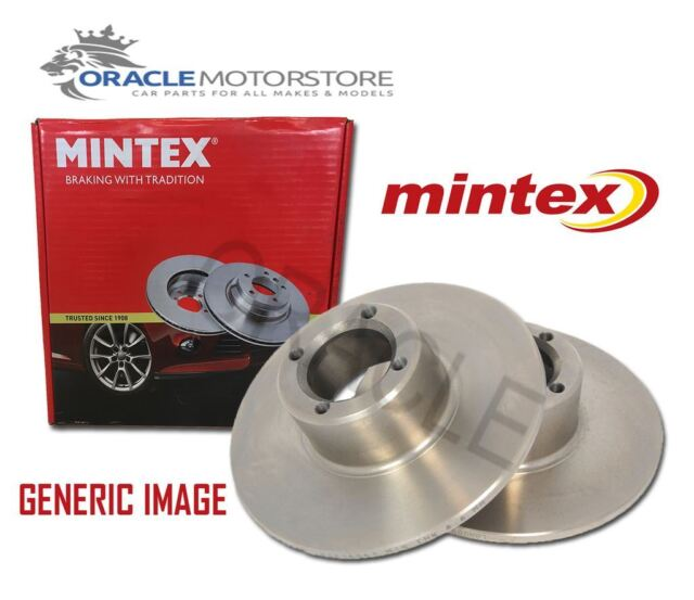 NEW MINTEX REAR BRAKE DISCS SET BRAKING DISCS PAIR GENUINE OE QUALITY MDC2550