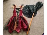 Girls Halloween Costume - 10-11 Years