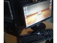 MEGA DEAL COMPLETE PC SYSTEM - ACER - 19 INCH - ATI HDMI GRAPHICS