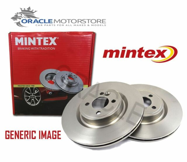 NEW MINTEX FRONT BRAKE DISCS SET BRAKING DISCS PAIR GENUINE OE QUALITY MDC1689