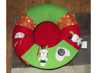 RED KITE SIT ME UP INFLATABLE RING/DONUT BABY SEAT 3months upwards