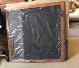 Double Sided Framed Blackboard