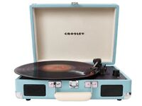 Hardly ever used retro looking portable vinyl player for sale