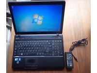 "Toshiba Satellite Pro C660-1LR Laptop 15.6"" Intel i3 2.53ghz, 300gb 2GB Windows 7"