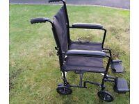 Folding Wheelchair **Lightweight**