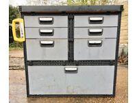 Van Racking / Shelving - MODUL - Good Condition - Ford Transit - Drawers - Shelves - Work Bench