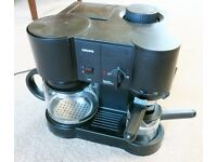 KRUPPS ACTIVE 10 EXPRESSO COFFEE MACHINE.