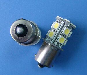 10x-BA15S-1156-1141-LED-bulb-lamp-13-5050-SMD-White-AC-DC-12-24V-13AZW