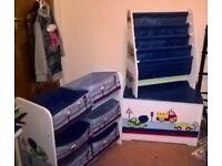 Childs furniture bundle transport theme