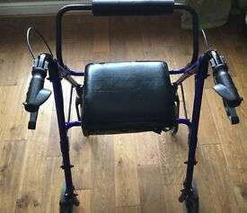 Mobility Aid - Walker / Stroller with seat