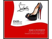 New Authentic Christian Louboutin Designer Shoes (Size 7 UK / 39.5 European Size / 9 US Size)