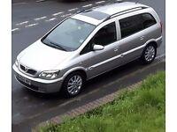 Vauxhall Zafira 2.0 DTi 16v Elegance 5dr NEW MOT