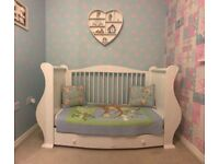 Marie 2 piece Room set Baby cot *used*