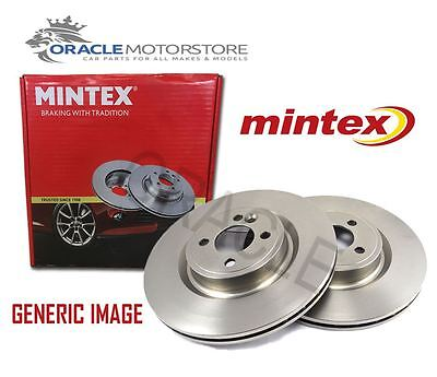 NEW MINTEX FRONT BRAKE DISCS SET BRAKING DISCS PAIR GENUINE OE QUALITY MDC1394