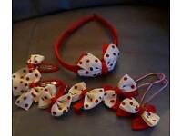 7pcs child's hair accessories set