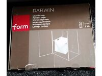 Darwin laundry storage basket for wardrobe brand new boxed with all the stuff with it