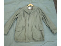 Vintage Dutch Army M53 SEYNTEX Field Jacket - Size Large