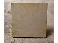 "Plasterers / Plasterer's Poly Foam Hawk Plastering Handheld Board 13"" X 13"" Used"