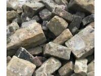 Wanted Sandstone Monoblock Mono blocks gravel, stones, cobbles, chips, bricks,concrete uplifted free