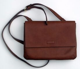 Small tan handbag from John Lewis, excellent condition
