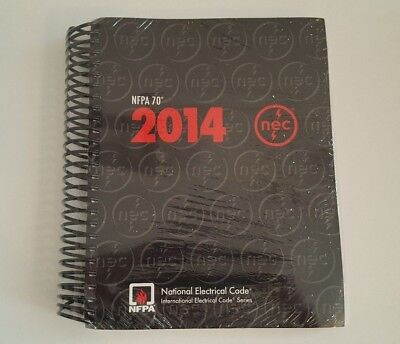 2014 NFPA 70 National Electric Code NEC (Spiral Bound) BRAND NEW IN PLASTIC