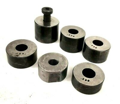 Lot Of Round Gauge Blocks Stand Offs - Toolmakers And Machinist Setup