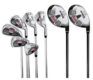 Wilson Pro-Staff High MOI Hybrid & Iron 8 Piece Combo Golf Club Set | WGGC84200