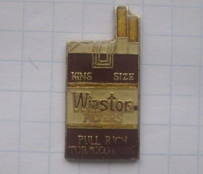 WINSTON FILTERS / SCHACHTEL   .........................Zigaretten Pin (167i)