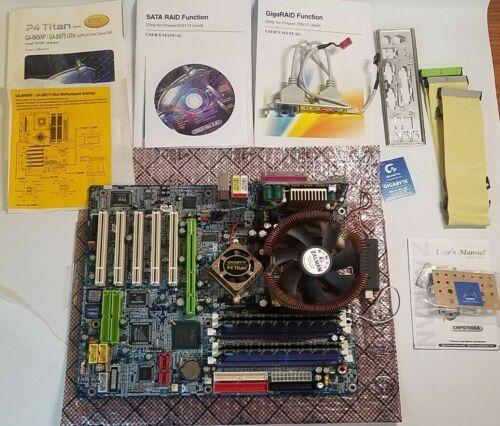 Gigabyte GA-8KNXP Rev 2.0 DPS2 Module P4 CPU 2GB Ram Complete Motherboard AGP