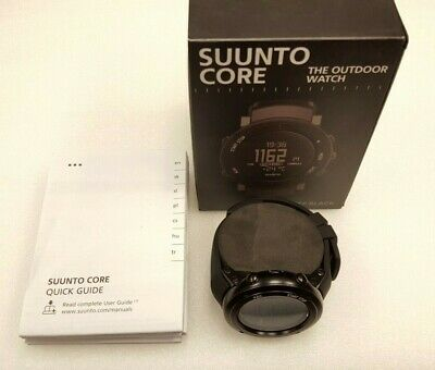 Suunto Core Alu Deep Black Wrist Watch Wristwatch - SS018734000