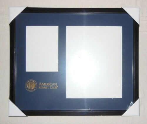 New AKC American Kennel Club FRAME for Picture & AKC Certification / Certificate