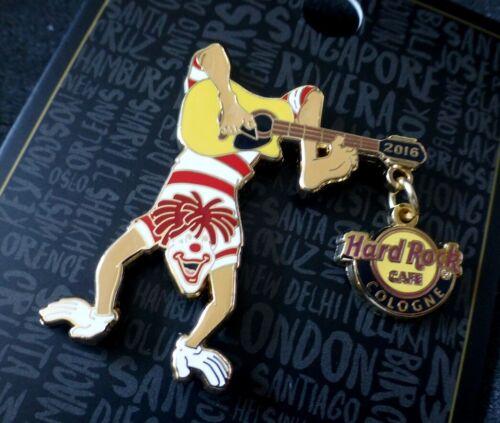 Hard Rock Cafe COLOGNE HRC • carnival karneval Rosenmontag Motto 2016 danglerpin