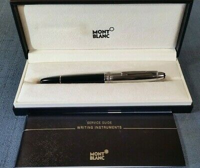 Montblanc Meisterstück Solitaire # 146 Stainless Steel 18K (M) Nib Fountain Pen
