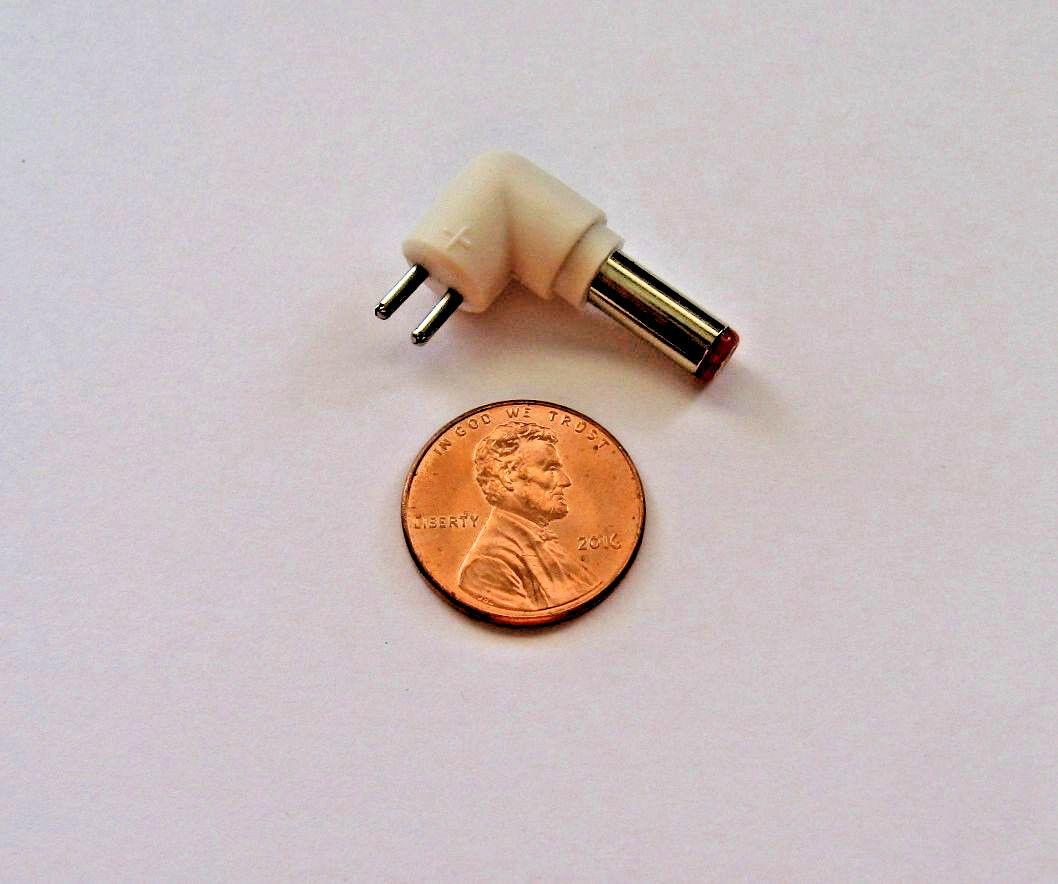 Universal AC Adapter Adaptaplug Plug, Size J OD 5.0 mm ID 1.5 mm Red Color Tip