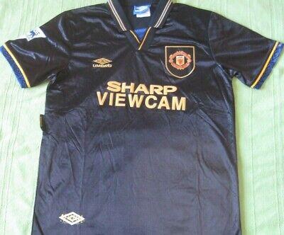 Shirt Camiseta Trikot MANCHESTER UNITED Season 1994 away Umbro Vintage Retro new