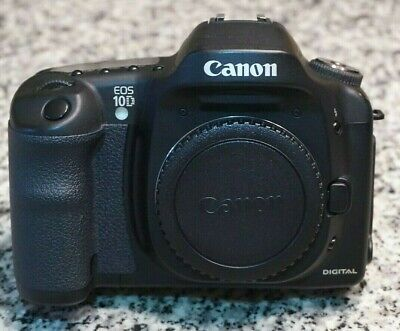 VTG Canon EOS 10D 6.3MP DSLR Camera APS-C EF Mount Body ONLY Tested Free Ship