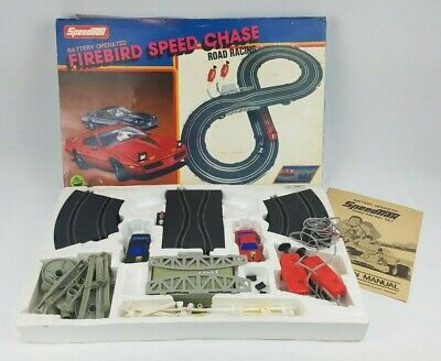 Firebird Speed Chase Artin Slot Car Race Track w/ 2 Cars *Sold As-Is*See Listing](Race Car Track)