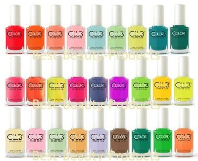 Color Club Nail Polish Lacquer Poptastic Collection 0.5 oz-CHOOSE FROM 54 COLORS