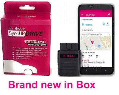NEW IN BOX T-Mobile ZTE Z6200 SyncUP Drive 4G LTE Cell Mobile Car WiFi Hotspot