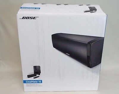 Bose CineMate 15 Home Theater Speaker System + Accessories & Box #dC1n5