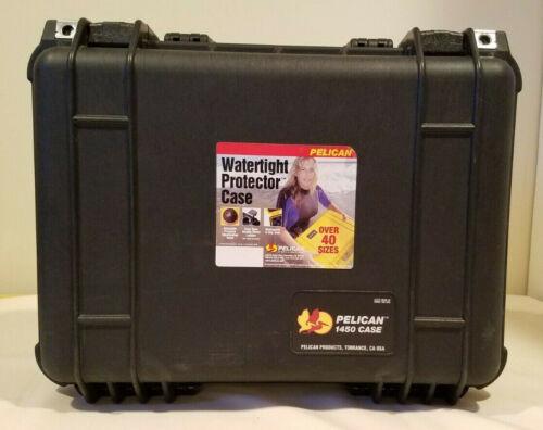 Pelican 1450 Watertight Hard Case with Foam Insert - Black #1450-000-110