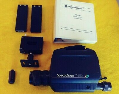 Photo Research Spectrascan 650 - No Charger
